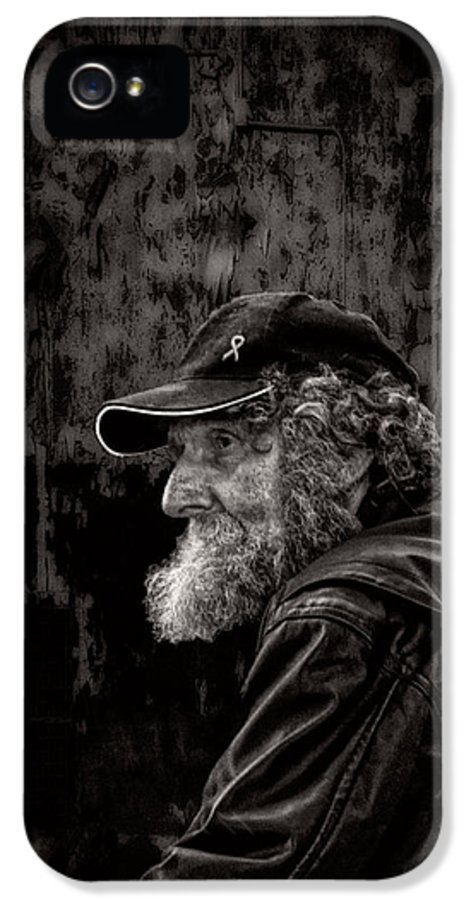 Beard IPhone 5 Case featuring the photograph Man With A Beard by Bob Orsillo