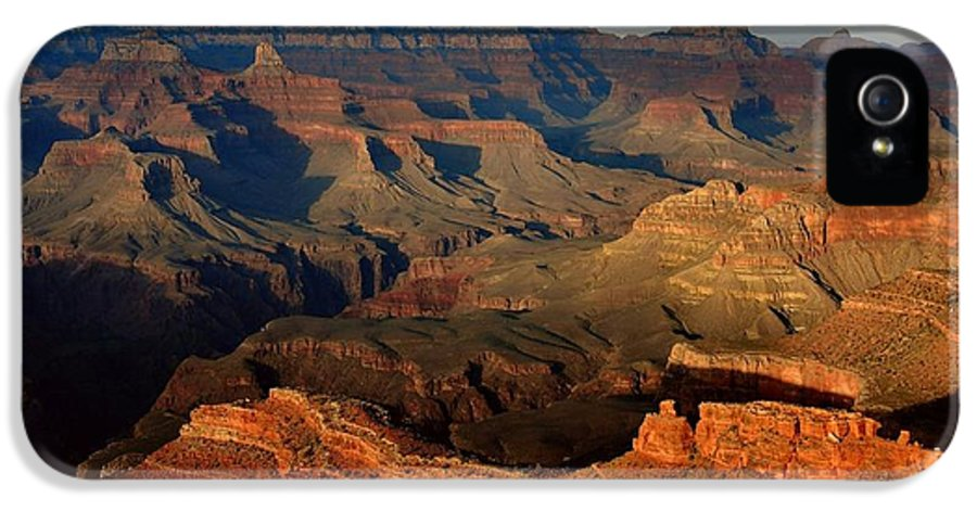 Grand Canyon IPhone 5 Case featuring the photograph Mather Point - Grand Canyon by Stephen Vecchiotti