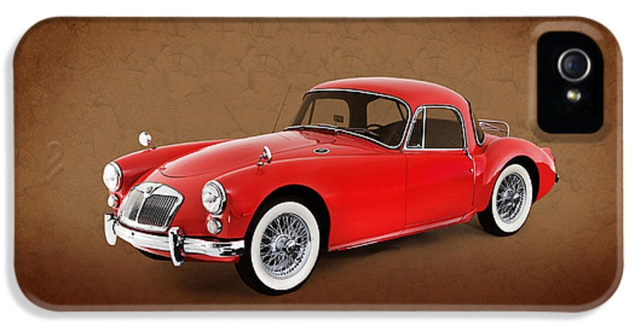 Car IPhone 5 Case featuring the photograph Mga 1959 by Mark Rogan