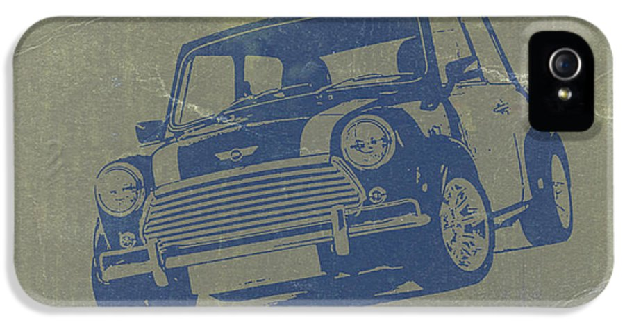 Mini Cooper IPhone 5 Case featuring the photograph Mini Cooper by Naxart Studio