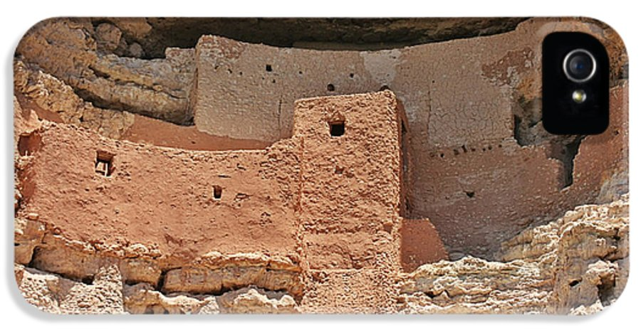 Culture IPhone 5 Case featuring the photograph Montezuma Castle - Special In It's Own Way by Christine Till