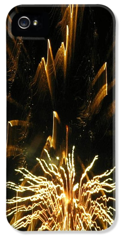 Fireworks IPhone 5 Case featuring the photograph Music To My Eyes by Rhonda Barrett