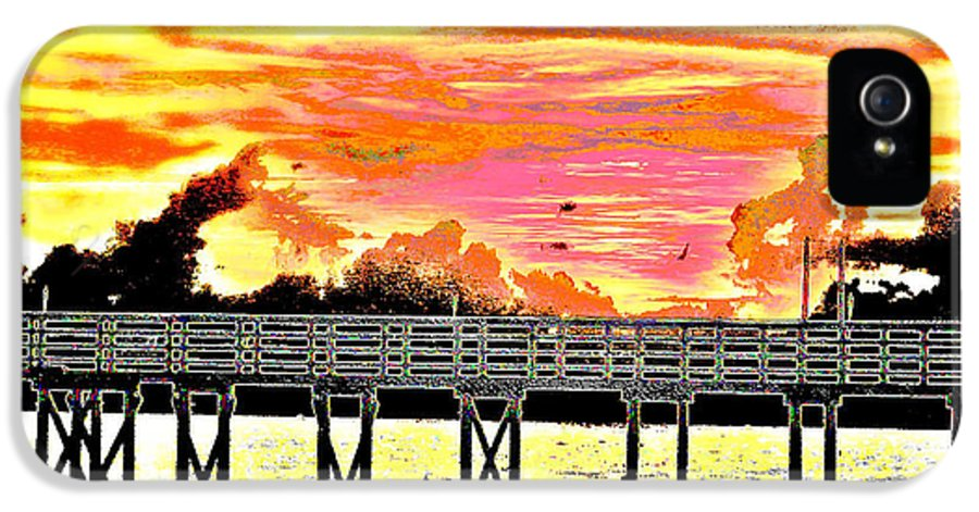 Beach IPhone 5 Case featuring the photograph On The Beach by Bill Cannon