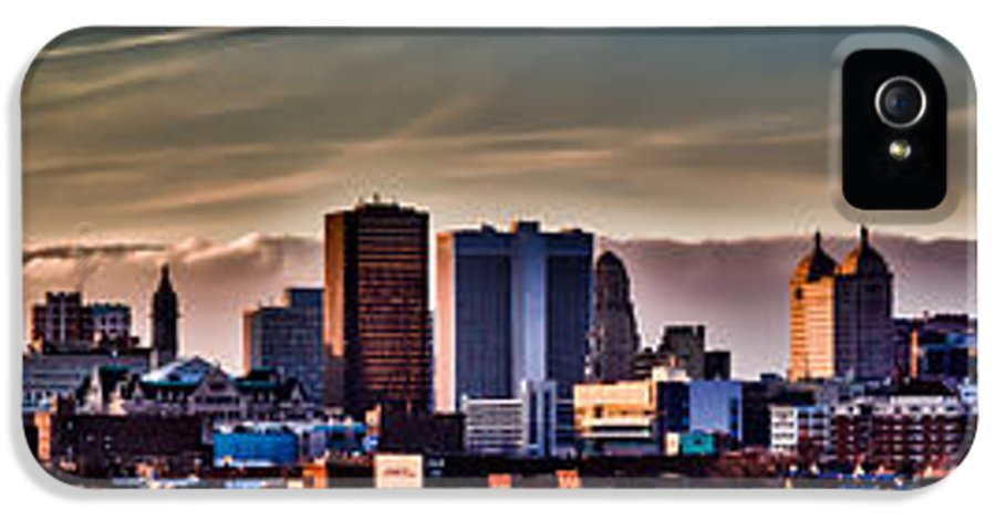 Urban IPhone 5 Case featuring the photograph Our Finest by Chuck Alaimo
