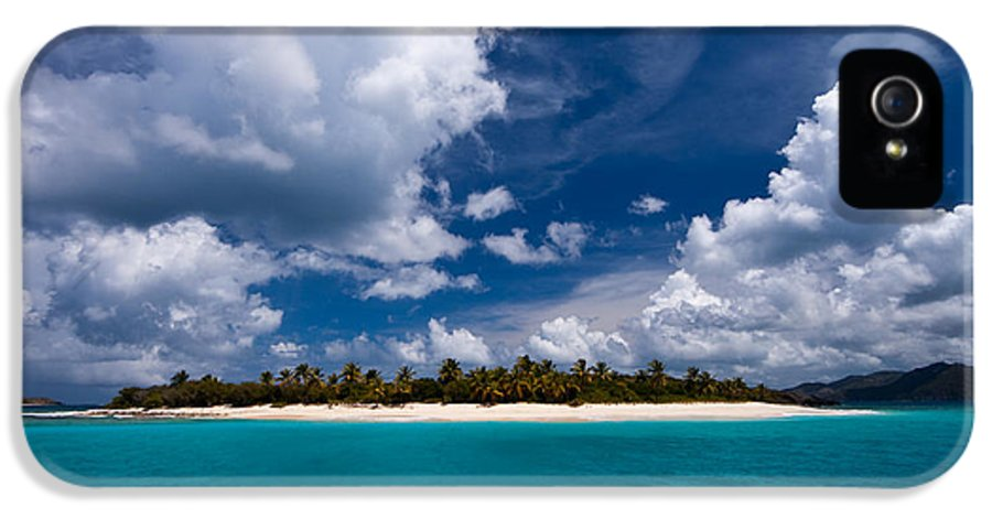 3scape Photos IPhone 5 Case featuring the photograph Paradise Is Sandy Cay by Adam Romanowicz
