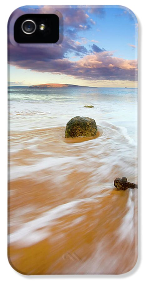 Cleat IPhone 5 Case featuring the photograph Pulled To The Sea by Mike Dawson