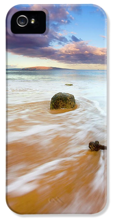 Cleat IPhone 5 / 5s Case featuring the photograph Pulled To The Sea by Mike Dawson
