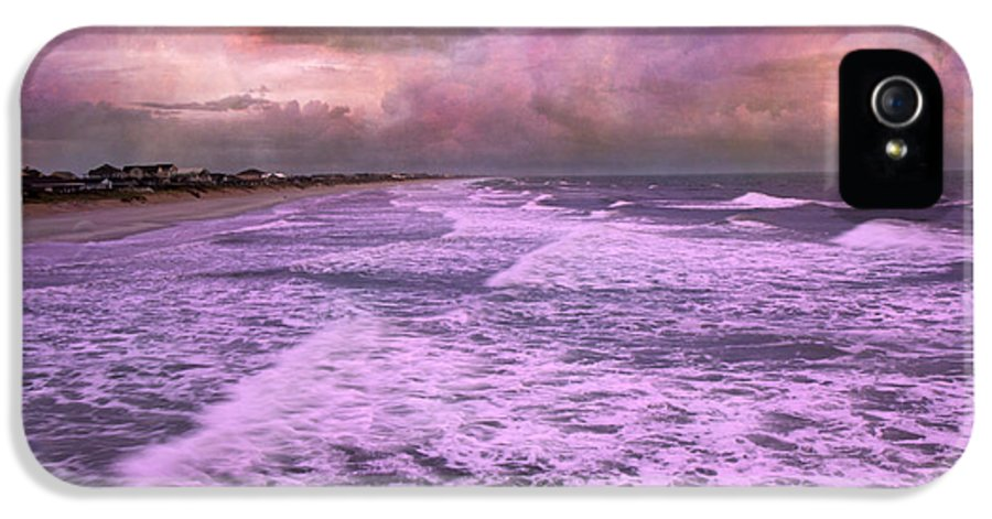 Topsail IPhone 5 Case featuring the photograph Purple Majesty by Betsy Knapp