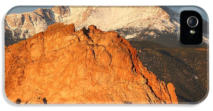 Colorado IPhone 5 Case featuring the photograph Red Rock by Eric Glaser