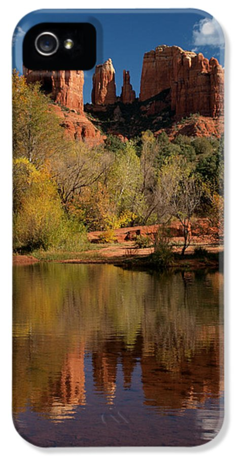 Sedona IPhone 5 Case featuring the photograph Reflections Of Sedona by Joshua House