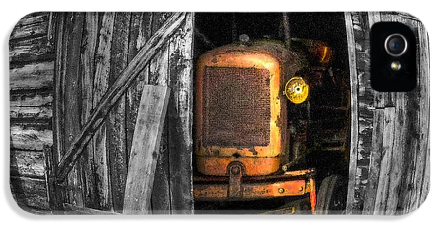 Vehicle IPhone 5 Case featuring the photograph Relic From Past Times by Heiko Koehrer-Wagner