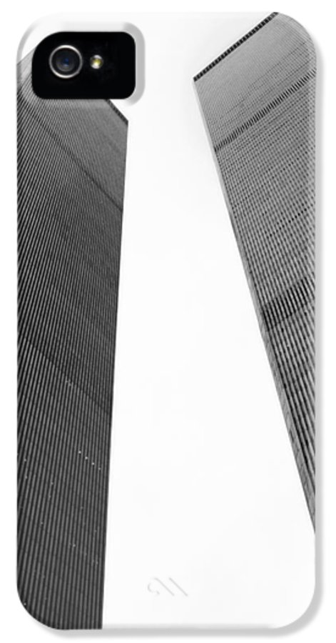 Twin Towers9 IPhone 5 Case featuring the photograph Remember by Joann Vitali