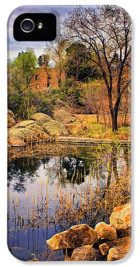 Granite Dells IPhone 5 Case featuring the photograph Rock House At Granite Dells by Priscilla Burgers