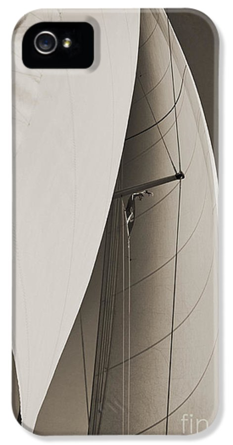 Sailing IPhone 5 Case featuring the photograph Sails by Dustin K Ryan