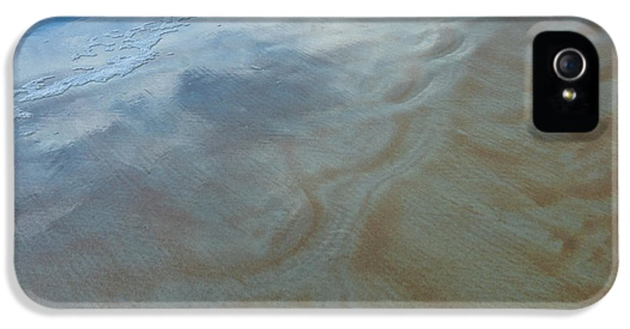 Daytona Beach IPhone 5 Case featuring the photograph Sandy Beach Abstract by Carolyn Marshall