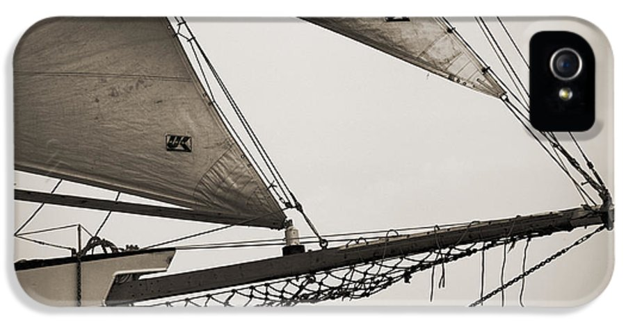 Tall Ship IPhone 5 Case featuring the photograph Schooner Pride Tall Ship Charleston Sc by Dustin K Ryan