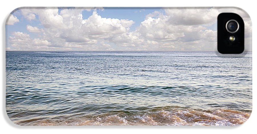 Background IPhone 5 Case featuring the photograph Seascape by Carlos Caetano