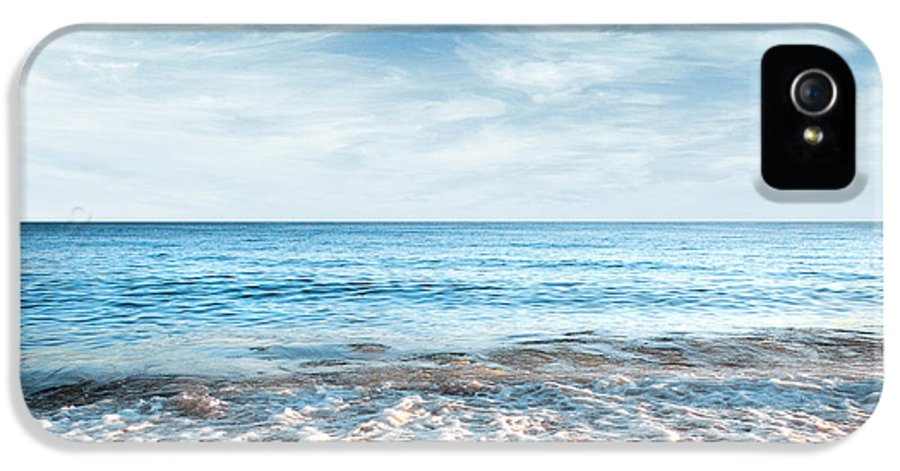 Background IPhone 5 / 5s Case featuring the photograph Seashore by Carlos Caetano