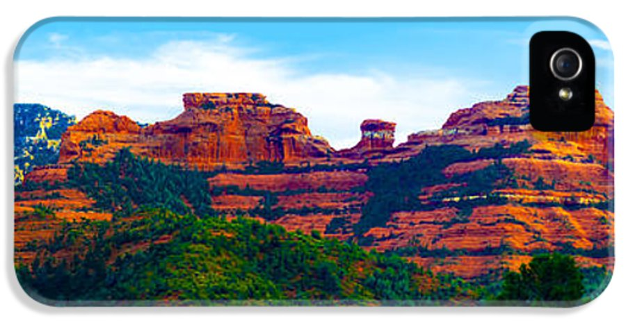 Sedona IPhone 5 Case featuring the photograph Sedona Arizona Red Rock by Jill Reger