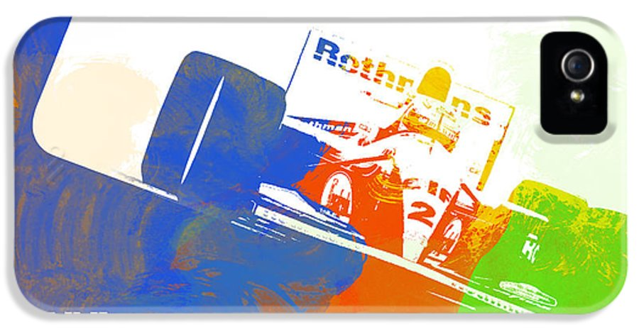 IPhone 5 Case featuring the digital art Senna by Naxart Studio
