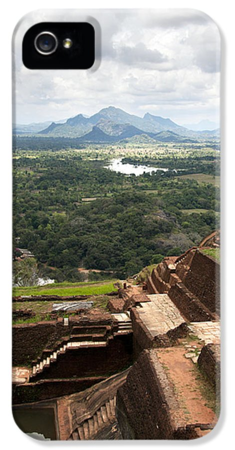 Ancient IPhone 5 Case featuring the photograph Sigiriya Ruins by Jane Rix