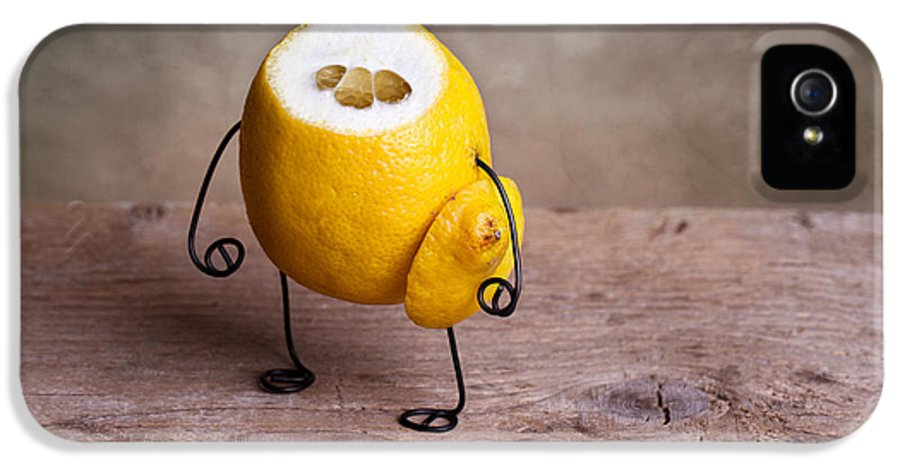 Lemon IPhone 5 Case featuring the photograph Simple Things 12 by Nailia Schwarz