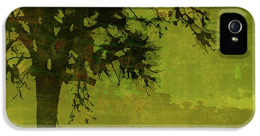 Tree IPhone 5 Case featuring the photograph Solitude by Bonnie Bruno