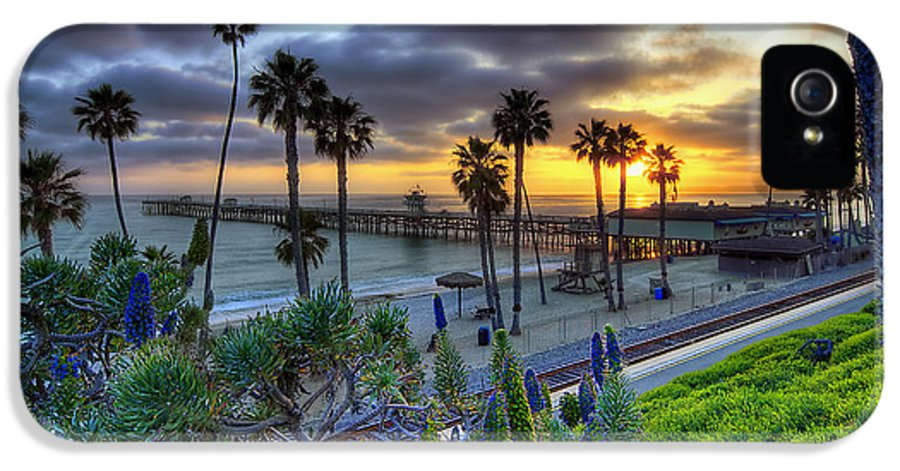 San Clemente IPhone 5 Case featuring the photograph Southern California Sunset by Sean Foster