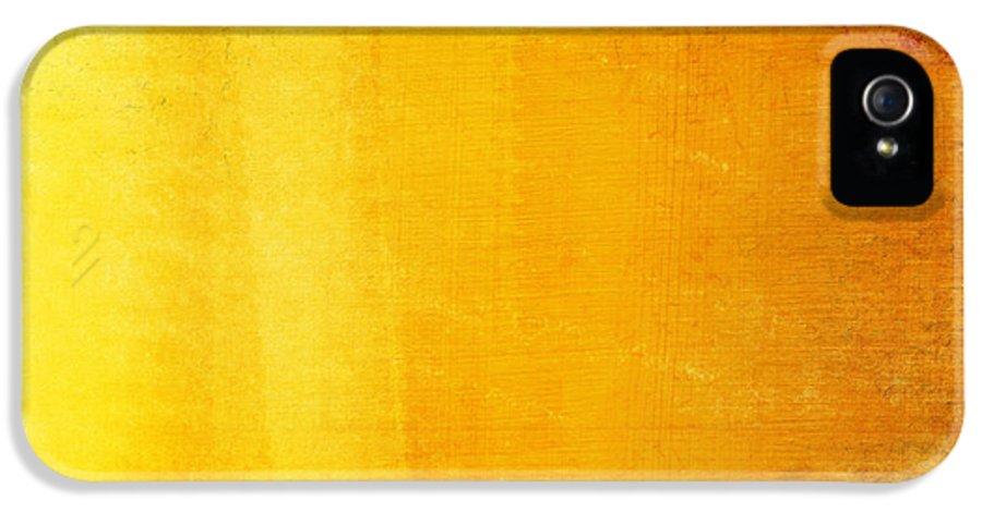 Abstract IPhone 5 Case featuring the photograph Spain Flag by Setsiri Silapasuwanchai