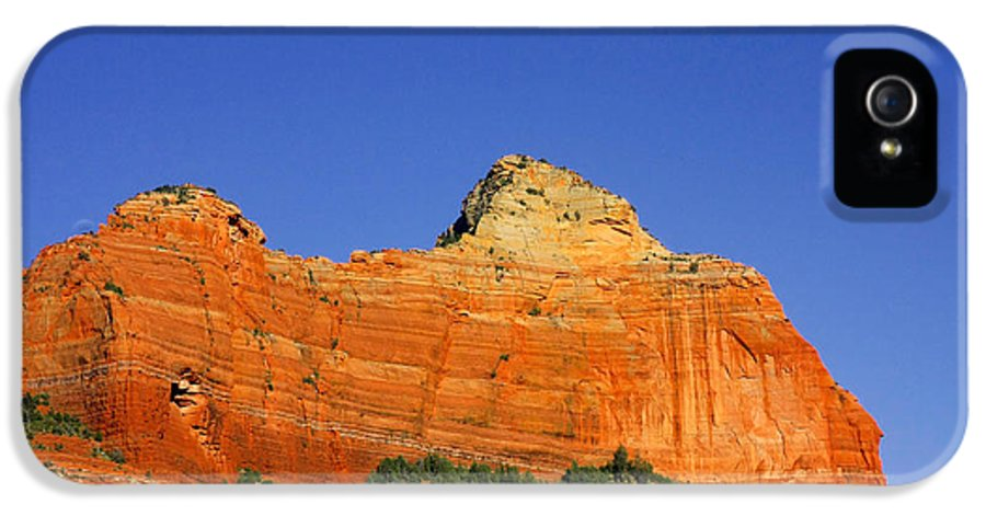 Sedona IPhone 5 Case featuring the photograph Spectacular Red Rocks - Sedona Az by Christine Till