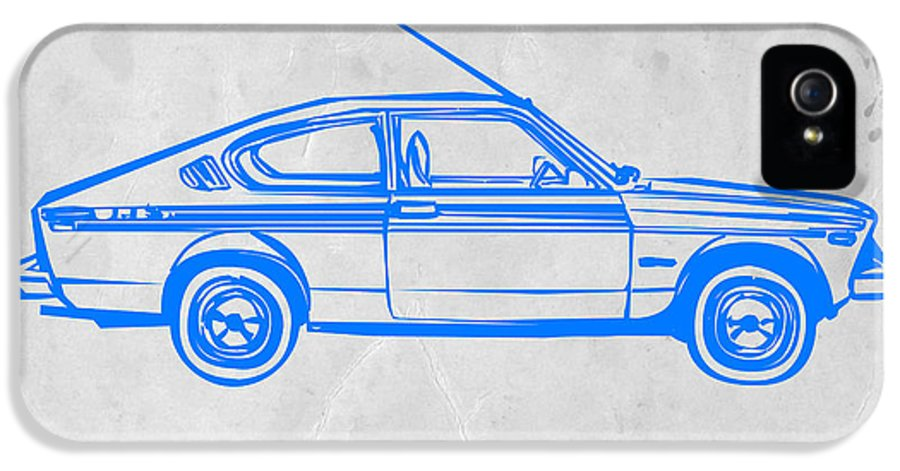 IPhone 5 Case featuring the drawing Sports Car by Naxart Studio