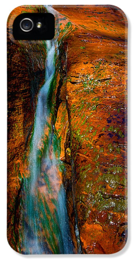 Outdoor IPhone 5 Case featuring the photograph Subway's Fault by Chad Dutson