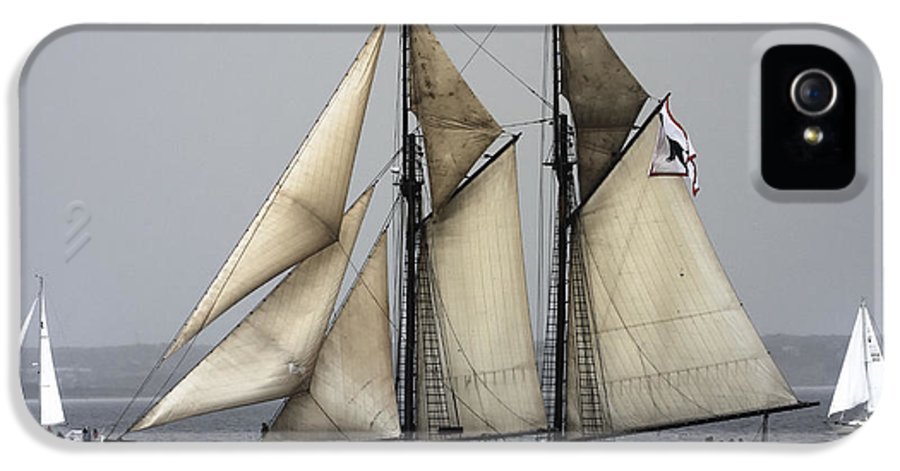 Tall Ships Photos IPhone 5 Case featuring the photograph Tall Ship by Dapixara Art