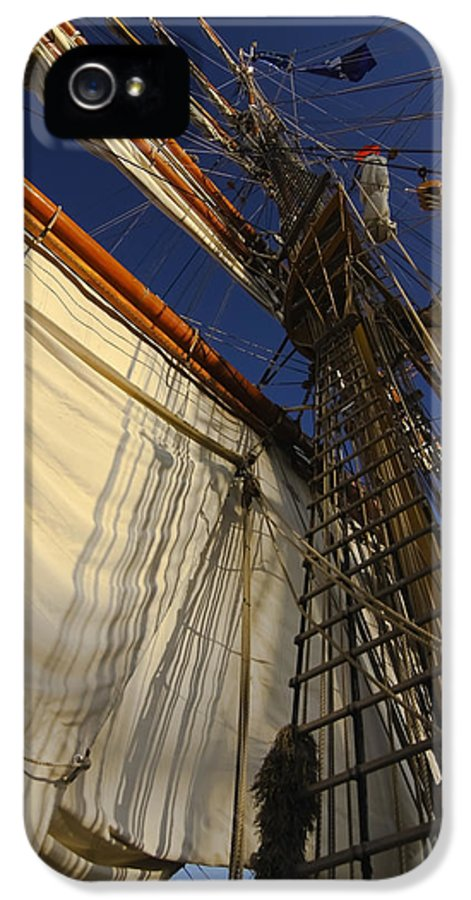 Tall Ship IPhone 5 Case featuring the photograph Tall Ship Sails by Sven Brogren