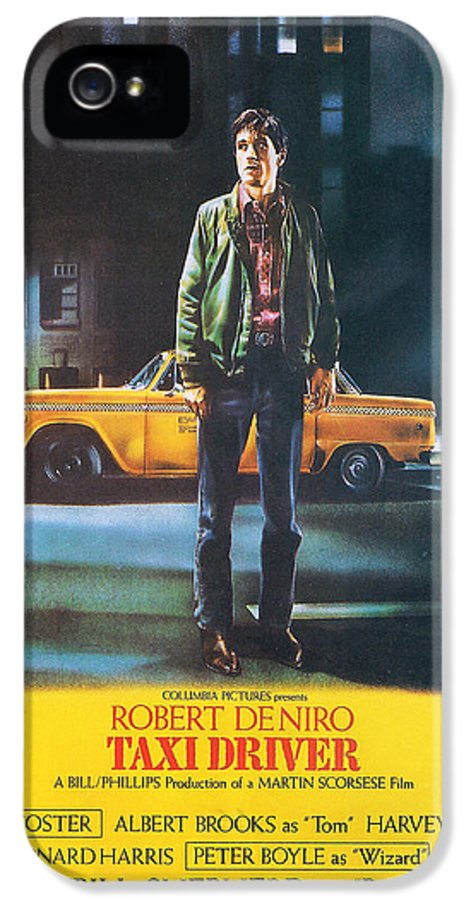 Taxi Driver IPhone 5 Case featuring the photograph Taxi Driver - Robert De Niro by Georgia Fowler