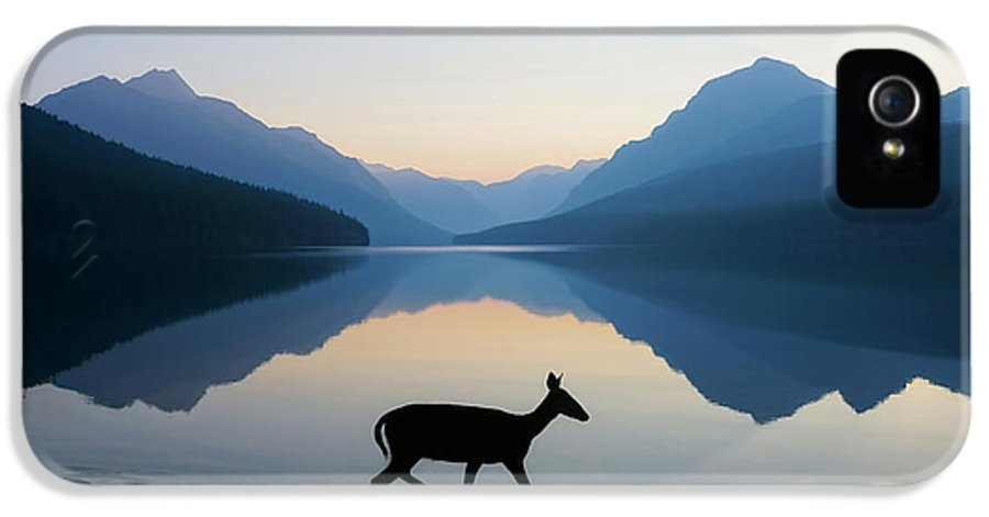Glacier National Park IPhone 5 Case featuring the photograph The Grace Of Wild Things by Dustin LeFevre