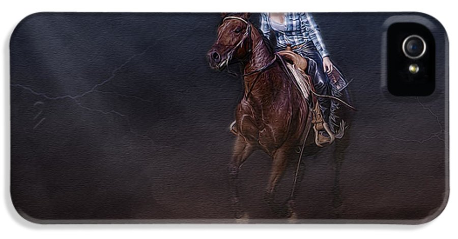 Animals IPhone 5 Case featuring the photograph The Great Escape by Susan Candelario