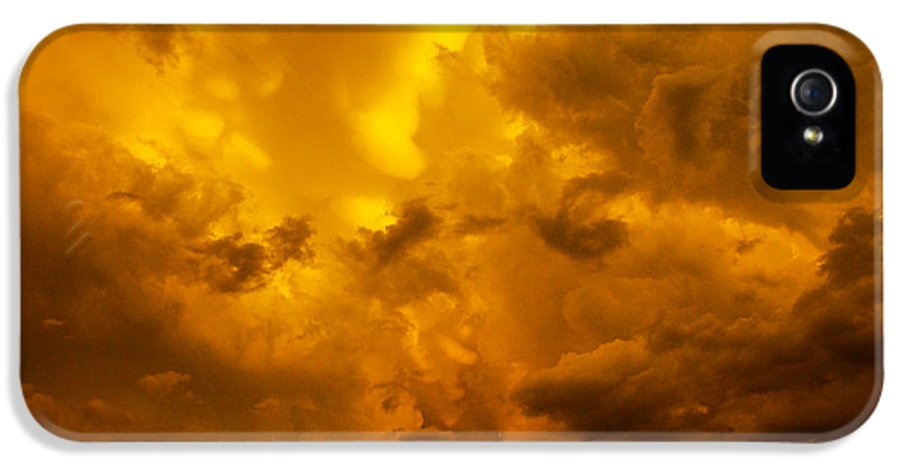 Nebraskasc IPhone 5 Case featuring the photograph The Last Glow Of The Day 008 by NebraskaSC