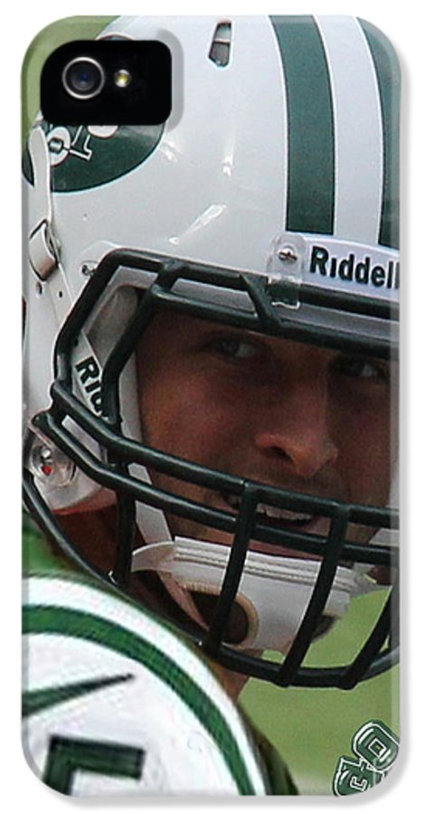 Lee Dos Santos IPhone 5 Case featuring the photograph Tim Tebow - New York Jets Florida Gators - Timothy Richard Tebow by Lee Dos Santos