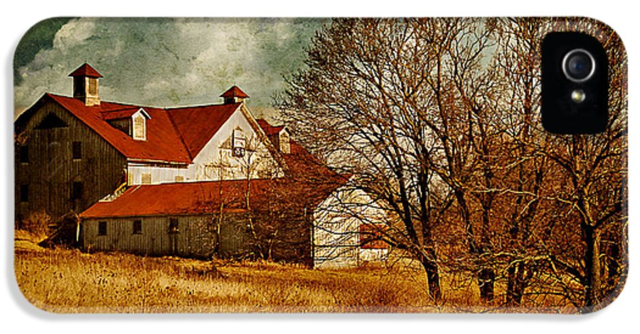 Barns IPhone 5 Case featuring the photograph Tired by Lois Bryan