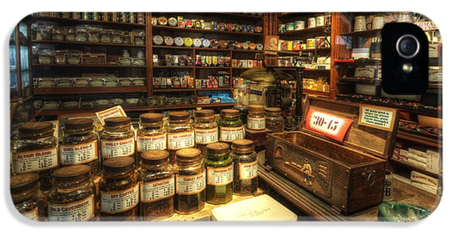 Art IPhone 5 Case featuring the photograph Tobacco Jars by Yhun Suarez