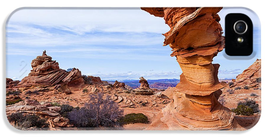Towerscape IPhone 5 Case featuring the photograph Towerscape by Chad Dutson