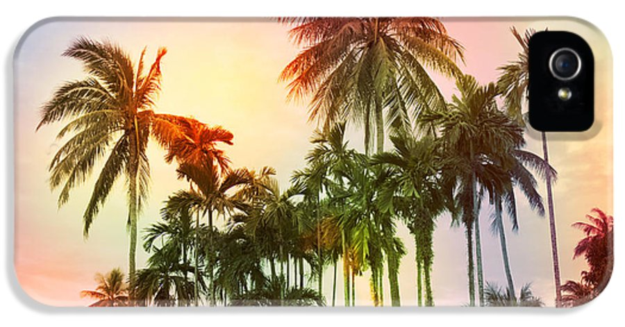 Tropical IPhone 5 Case featuring the photograph Tropical 11 by Mark Ashkenazi