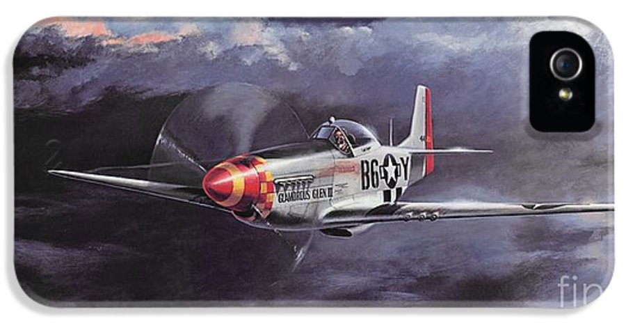 Chuck Yeager IPhone 5 Case featuring the painting Ultimate High by Michael Swanson