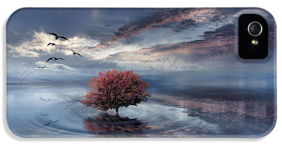 Tree Symbolical IPhone 5 Case featuring the photograph Unfathomable by Lourry Legarde