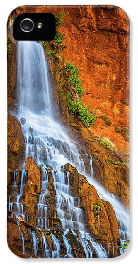 America IPhone 5 Case featuring the photograph Vaseys Paradise by Inge Johnsson