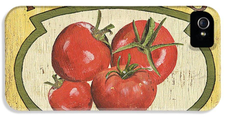 Food IPhone 5 Case featuring the painting Veggie Seed Pack 3 by Debbie DeWitt