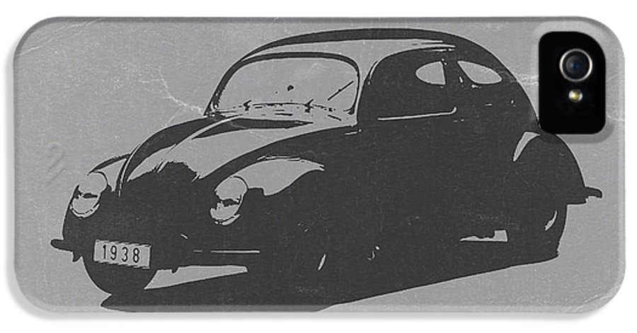 Vw Beetle IPhone 5 Case featuring the photograph Vw Beetle by Naxart Studio