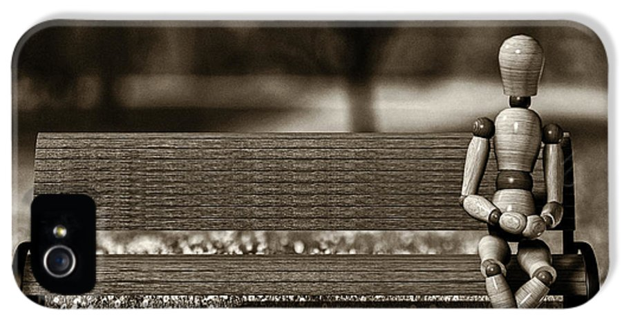 Landscape IPhone 5 Case featuring the photograph Waiting For The Taxi by Bob Orsillo
