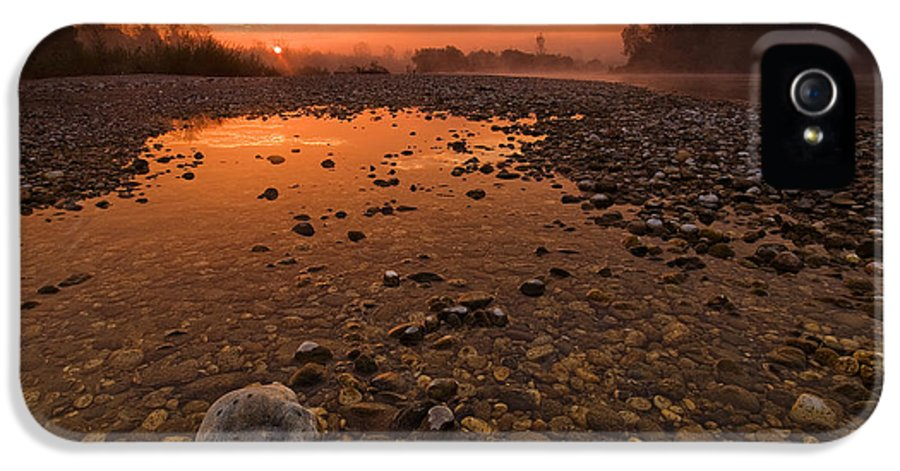 Landscape IPhone 5 Case featuring the photograph Water On Mars by Davorin Mance